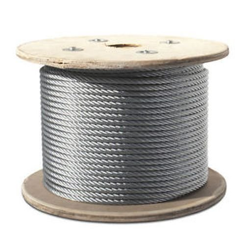 6mm (7x7) Galvanised Wire Rope 50mtr