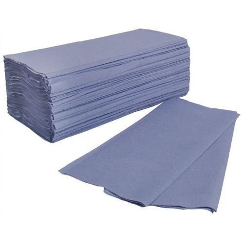 Glensoft Centre Fold Hand Towels Blue 1-Ply (2730)