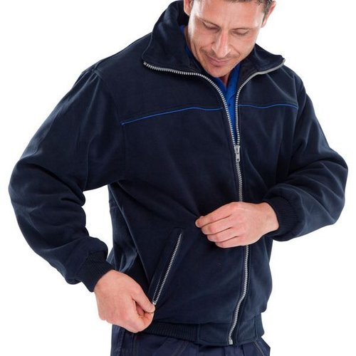 Click High Quality Fleece Jacket Navy