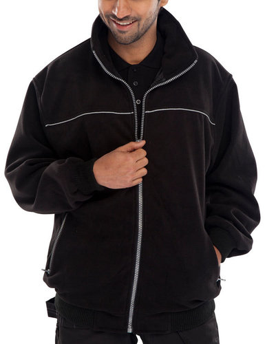 Click High Quality Fleece Jacket Black