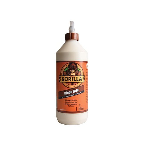 Gorilla PVA Wood Glue 1ltr