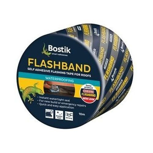 Evo-Stik 100mm x 10mtr Flashband Roll Grey