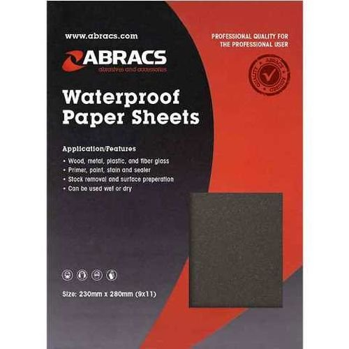 230mm x 280mm Wet & Dry Sheets (25)