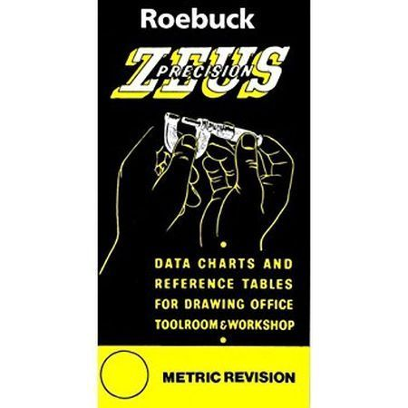 Zeus Book Engineers Data Charts & Tables