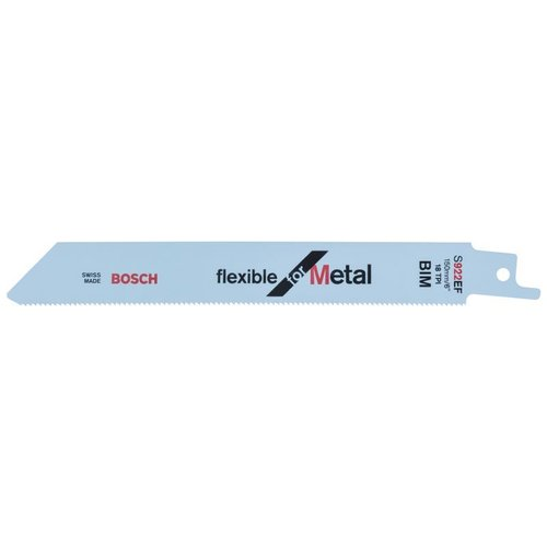 Bosch S922EF 150mm 1.5-4mm Sabre Saw Blades (5)
