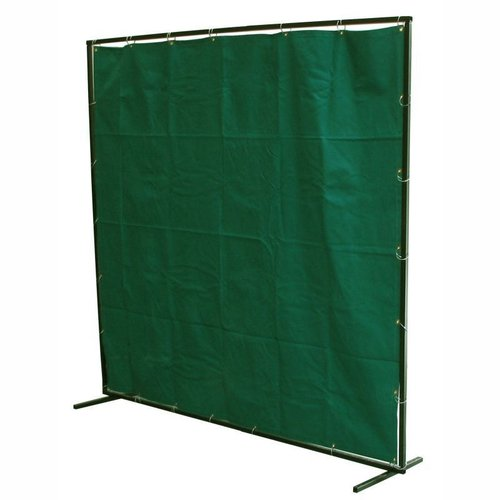 6' x 6' Green Fibreglass Curtain