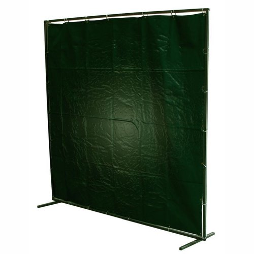 6' x 6' Green PVC Curtain                .