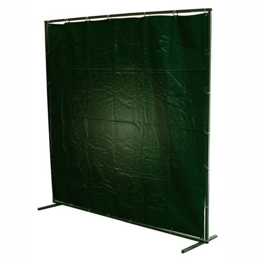8' x 6' Green PVC Curtain                .
