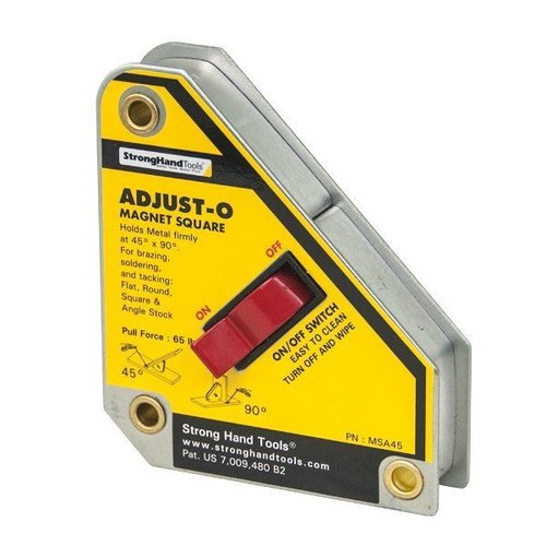 MSA48-HD Adjust-O-Magnet Square 75kg Force