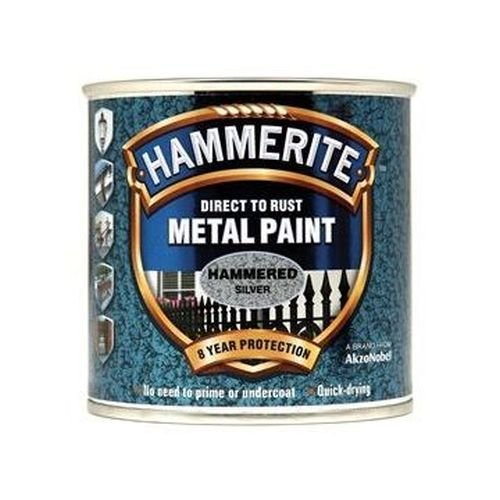 Direct to Rust Hammered Finish Paint Black 2.5ltr