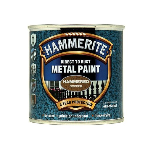 Direct to Rust Hammered Finish Paint Copper 250ml