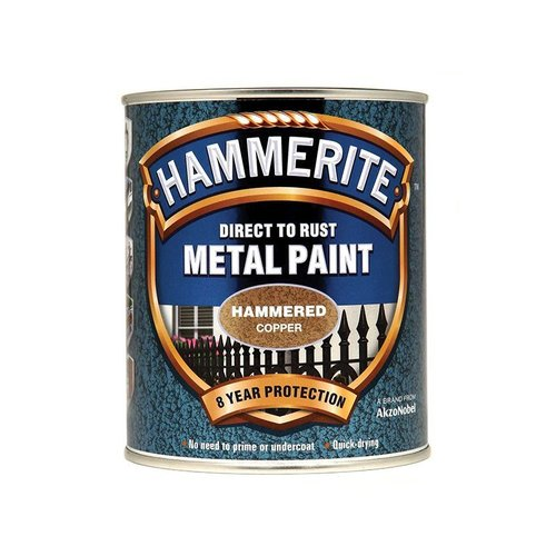 Direct to Rust Hammered Finish Paint Copper 750ml