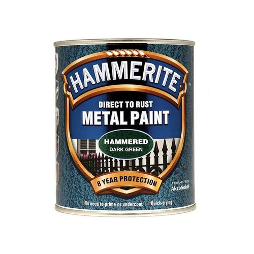 Direct to Rust Hammered Paint Dark Green 750ml