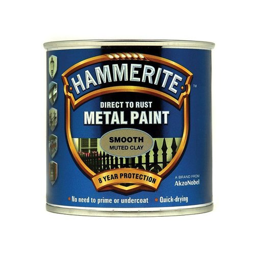 Direct to Rust Smooth Paint Muted Clay 250ml
