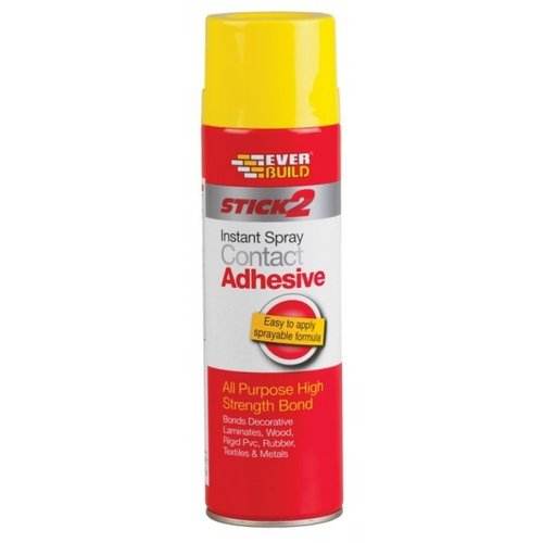 Everbuild Stick 2 Spray Contact Adhesive 500ml