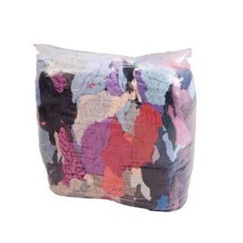 Mixed Colour Industrial Rags 10kg