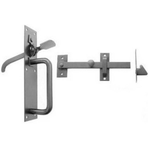 No.20/4S Medium Suffolk Latches Std Thumb Black