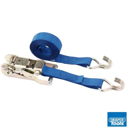 Heavy Duty Ratcheting Tie Down Straps 250kg