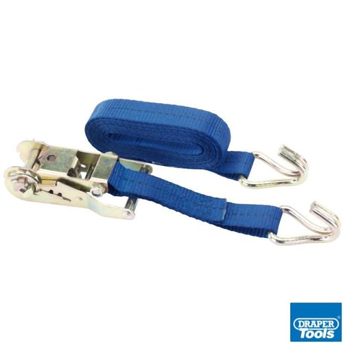 Heavy Duty Ratcheting Tie Down Straps 400kg