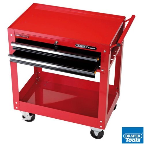 Expert 2 Level Tool Trolley 2 Drawers