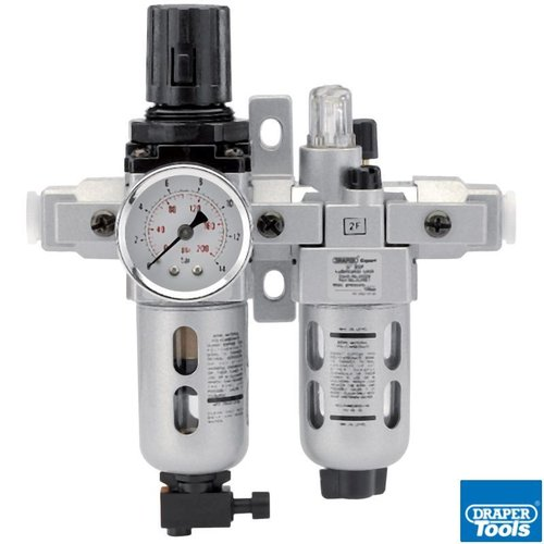 1/4in BSP Combi Filter/Regulator/Lubricator