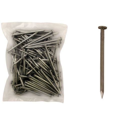 100mm x 4.50  Rnd Wire Nails Galv 1Kg