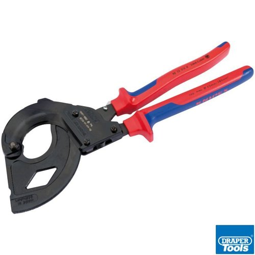 Knipex 315mm Ratchet Action Cable Cutter SWA