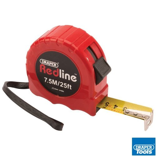Metric/Imperial Measuring Tape 7.5M/25Ft