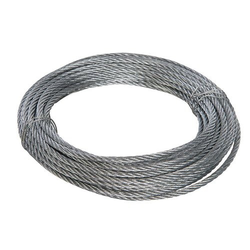 Galvanised Wire Rope 6mm x 10mtr