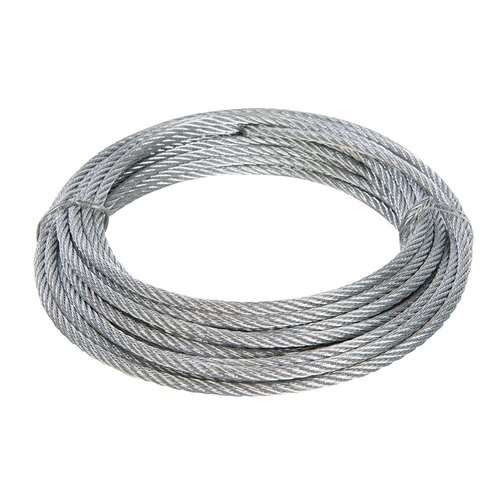Galvanised Wire Rope 4mm x 10mtr