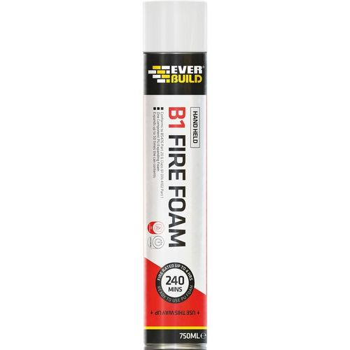 Fire Rated B1 Yellow Expanding Foam 750ml