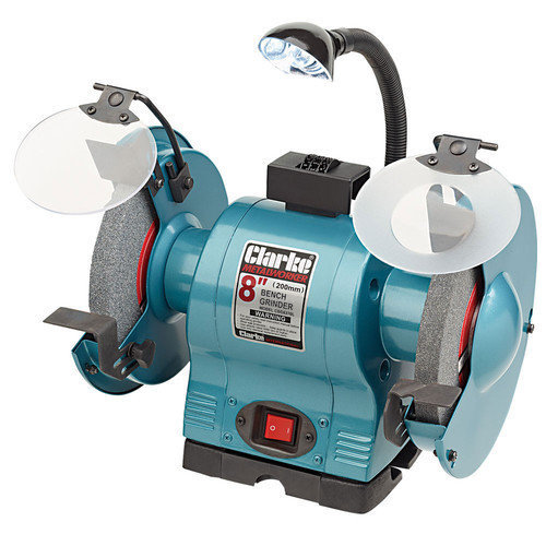 CBG8370L 8in Bench Grinder With Lamp 370W 230V