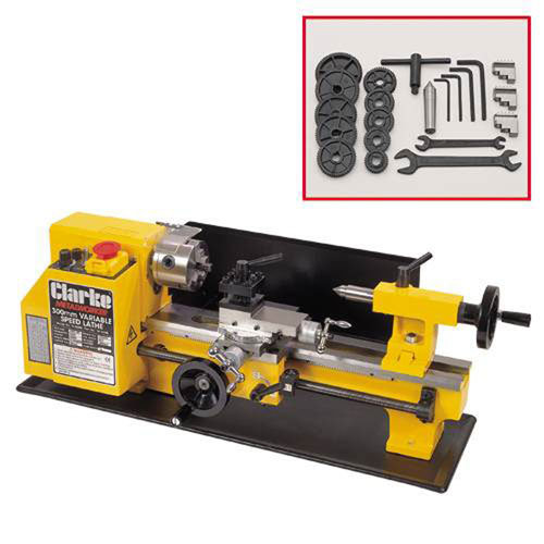 CL300M Variable Speed Metal Lathe 300W 240V