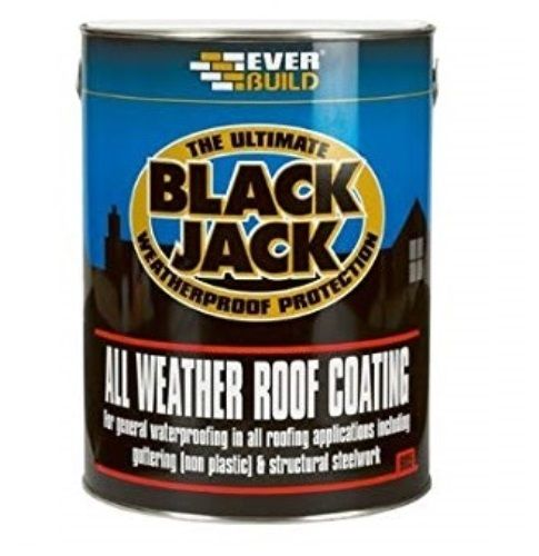 Everbuild 905 All Weather Black Bitumen 25ltr