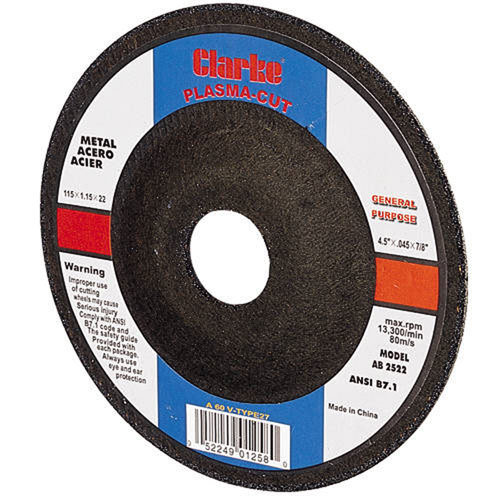PD1 115mm/4.5in Plasma Cutting Disc