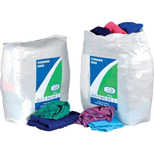 Workforce All White Cleaning Rags 10kg