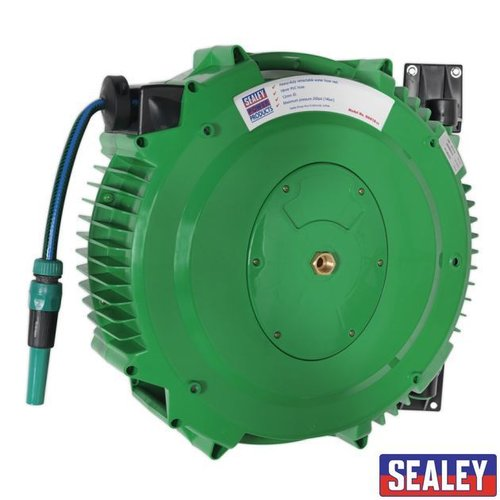 Retract Water Hose Reel 18mtr 12mm ID PVC