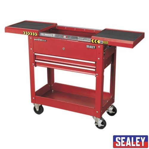 Mobile Tool & Parts Trolley - Red