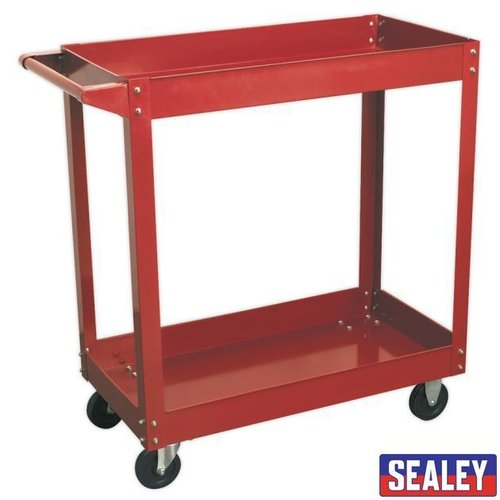 Workshop Trolley 2-Level Heavy-Duty