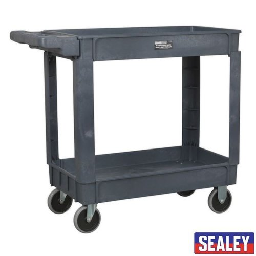 Trolley 2-Level Composite Heavy-Duty