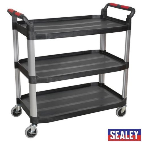 3-Level Composite Workshop Trolley