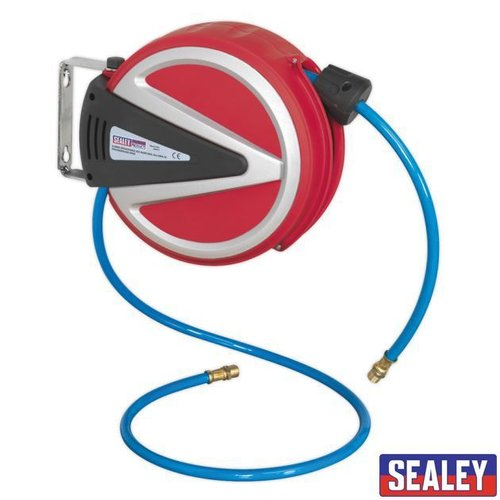 Retract Air Hose Reel 6.5m 6.5mm ID PU Hose