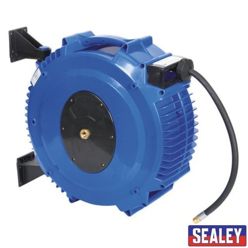Retract Air Hose Reel 20mtr 10mm ID TPR Hose