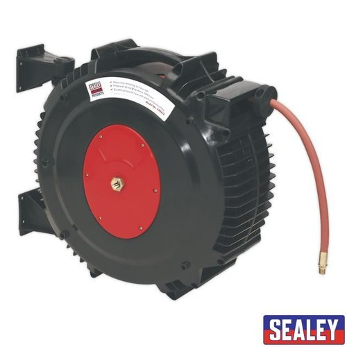Retract Air Hose Reel 15mtr 13mm ID Hose