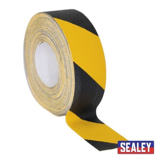 Anti-Slip Tape Self-Adhesive Black Yellow 50mm x18m