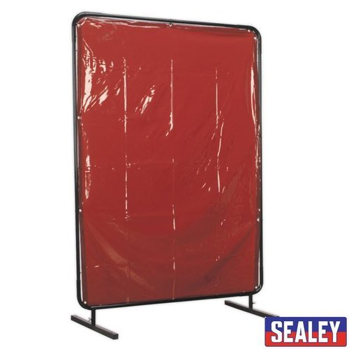 Welding Curtain to BS EN 1598 & Frame 1.3 x 1.75m
