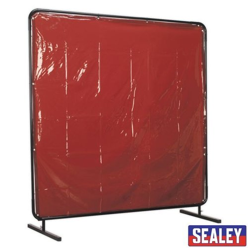 Welding Curtain to BS EN 1598 & Frame 1.8 x 1.75m