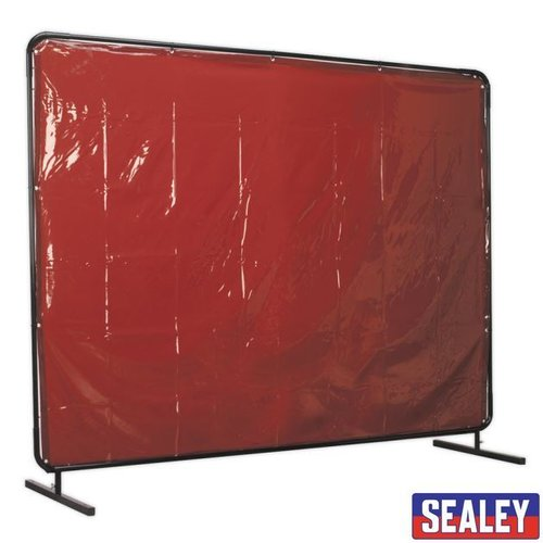 Welding Curtain to BS EN 1598 & Frame 2.4 x 1.75m