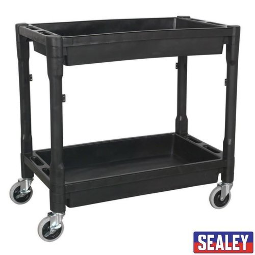 Trolley 2-Level Composite Hvy Duty