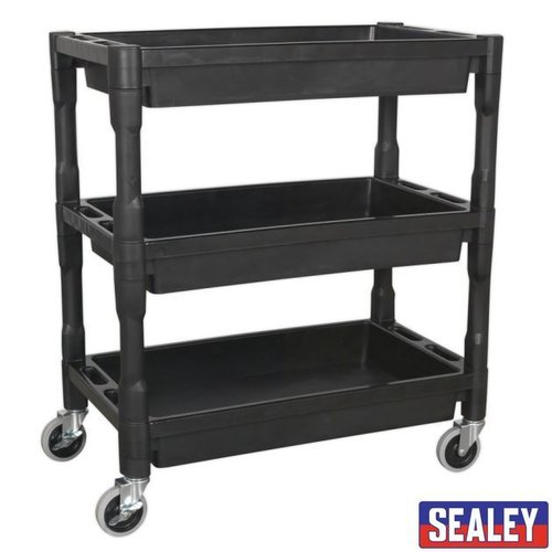 Trolley 3-Level Composite Hvy Duty